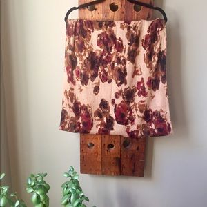 H&M Abstract Floral Infinity Scarf